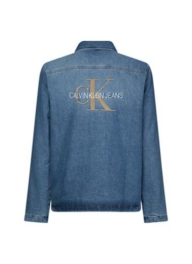 Calvin Klein Jean Ceket İndigo